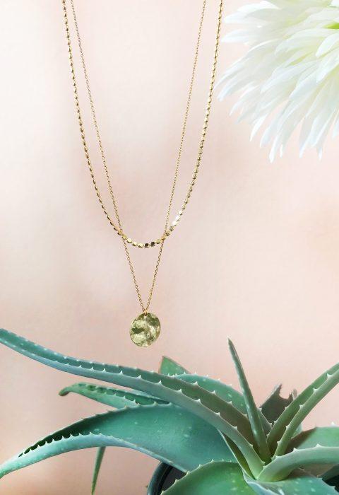 collier,fedora,lespiplettes,doré,or,multirangs,medaille,bijoux