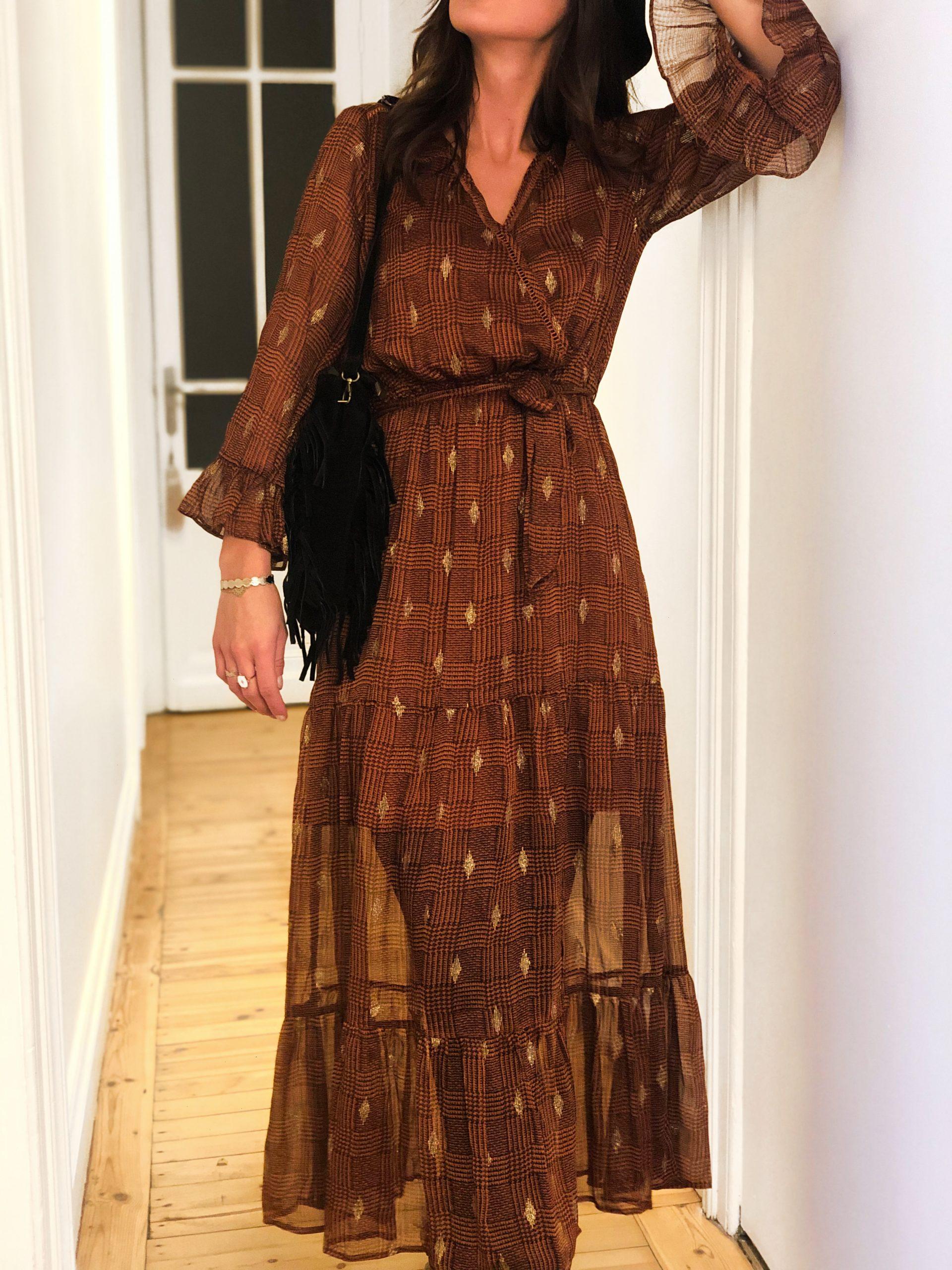 robe longue cache coeur boutique les piplettes