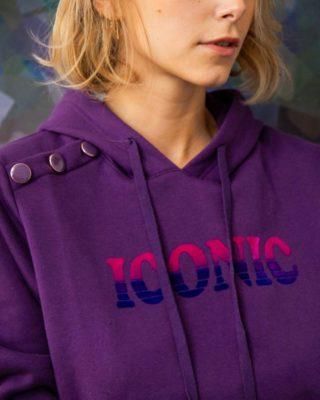 New in 💜 ICONIC SWEAT-SHIRT ⚡️  #lespiplettes #shopping #mode #lille #vieuxlille #arras #paris #lemarais #valenciennes #amiens #letouquet #strasbourg #toulouse #eshop #nouvellecollection #capsule #vestiairedautomne #fashionstyle #fashionaddict